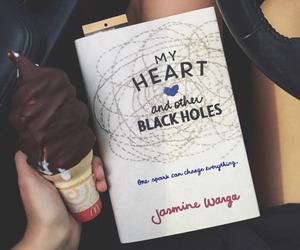 books, ice cream, and jasmine warga image