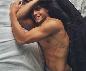 abs, boy, and smile image