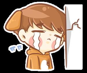 cutest, fanart, and baekhyun image