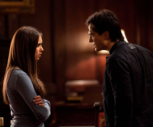 Vampire Diaries and delena image