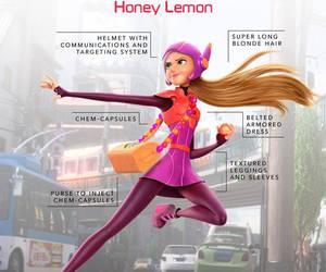 big hero 6, honey lemon, and disney image