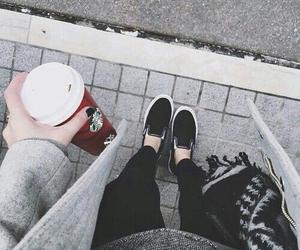 starbucks, fashion, and coffee image