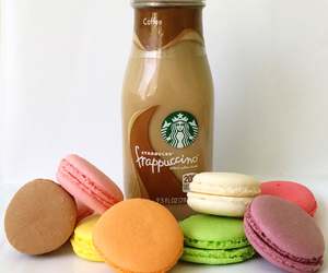 coffee, food, and macaroni image
