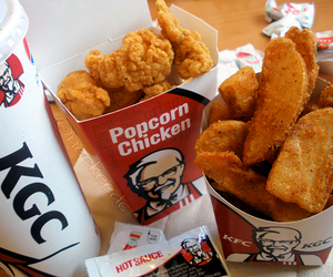 KFC, food, and Chicken image