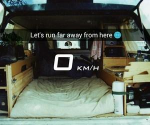 away, car, and far image