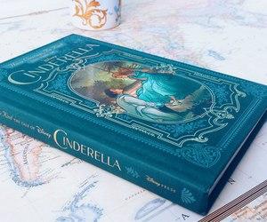 book, cinderella, and blue image