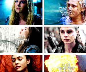 lexa, marie avgeropoulos, and the hundred image