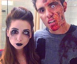 Halloween, alfie, and couple image