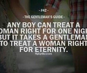 love, gentleman, and quote image