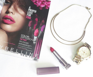 beauty, blogger, and Maybelline image
