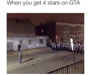 funny, gta v, and four stars image