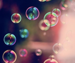bubbles, colors, and cool image