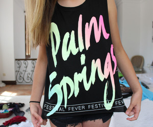 palm springs, tumblr, and clothes image