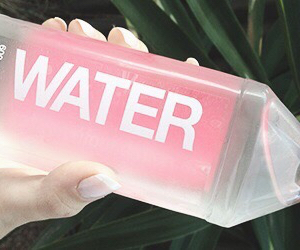 pink, water, and tumblr image