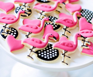 Cookies, pink, and sweet image
