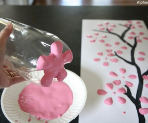 art, pink, and diy image