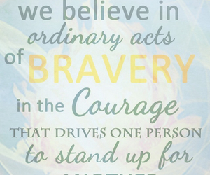 bravery and love image