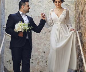 beautiful, wedding, and wedding dress image