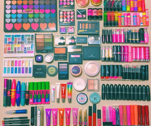 makeup, cosmetics, and girl image