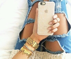 iphone, fashion, and style image