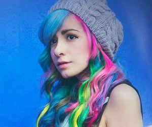 hair, colors, and miranda image