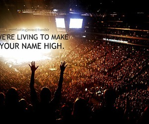 high, Hillsong, and jesus image