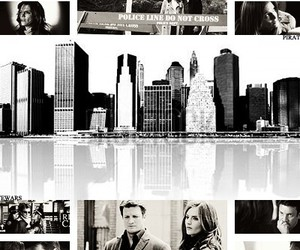 castle, nypd, and caskett image