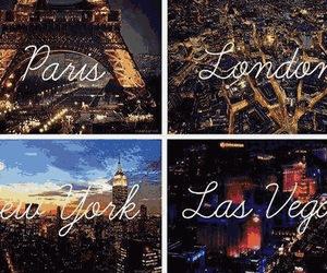 paris, london, and Las Vegas image