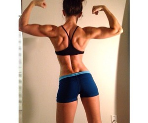 beautiful, fit, and muscles image