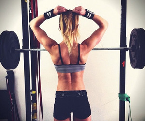 fitness, workout, and crossfit image