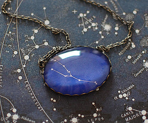 necklace, taurus, and zodiac sign image