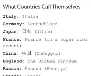 countries, funny, and language image