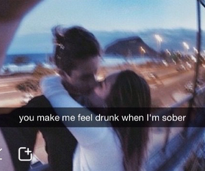 background, couple, and drunk image