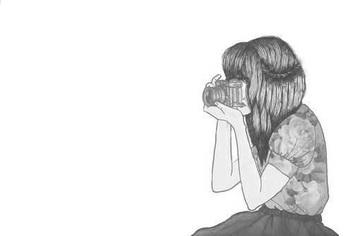 camera, drawing, and art image
