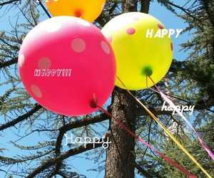 balloon, fly, and happiness image