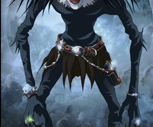ryuk, anime, and death note image