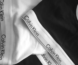 black, calvin, and Calvin Klein image