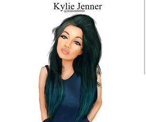 kylie jenner, art, and drawing image