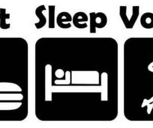 eat, sleep, and volley image