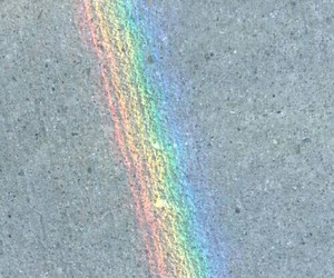 pale and rainbow image