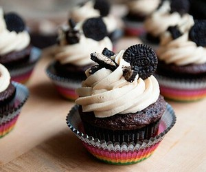 oreo, cupcake, and chocolate image