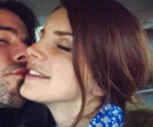 lana del rey and kiss image