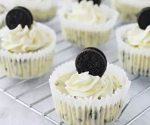 Cookies, cup cakes, and oreo image