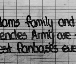 adams family, fanbases, and mendes army image