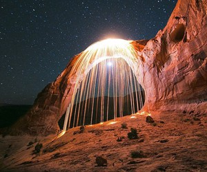 adventure, explore, and light image