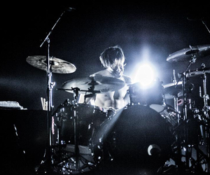 band, drummer, and drums image