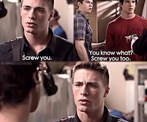 teen wolf, colton haynes, and jackson image