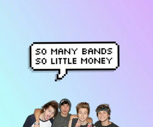background, 5sos, and band image