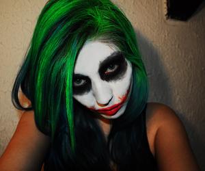 batman, crazy, and green hair image
