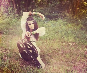girl, gypsy, and hippie image
